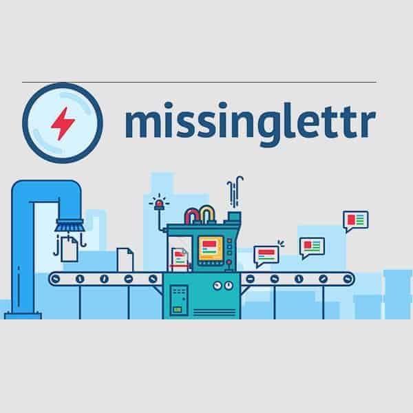 Missinglettr za oglaševanje